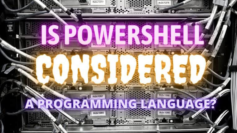 Is Powershell Considered a Programming Language?
