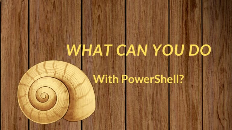 What is PowerShell Used for?